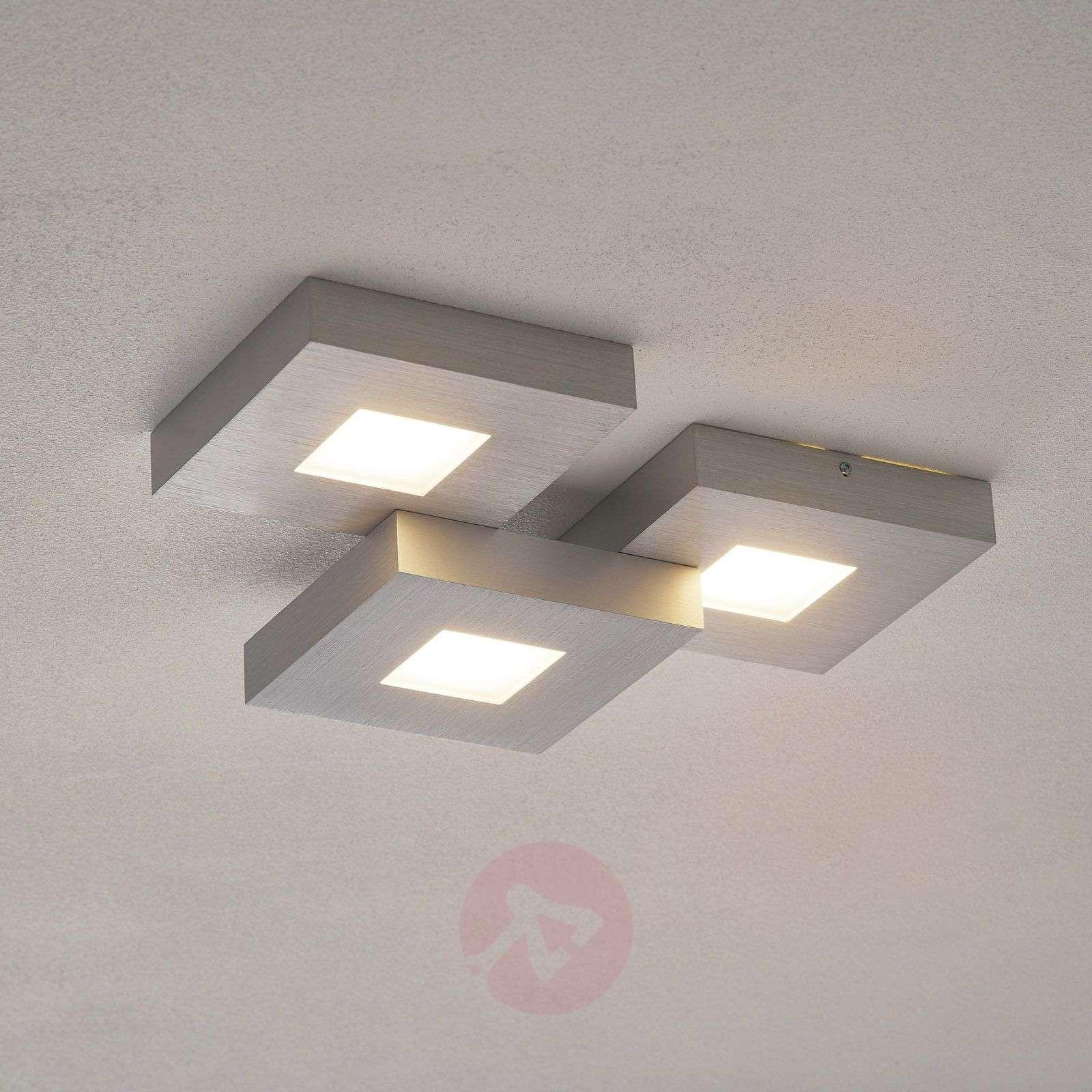 Cubus – kolmilamppuinen LED-kattovalaisin-1556047-01