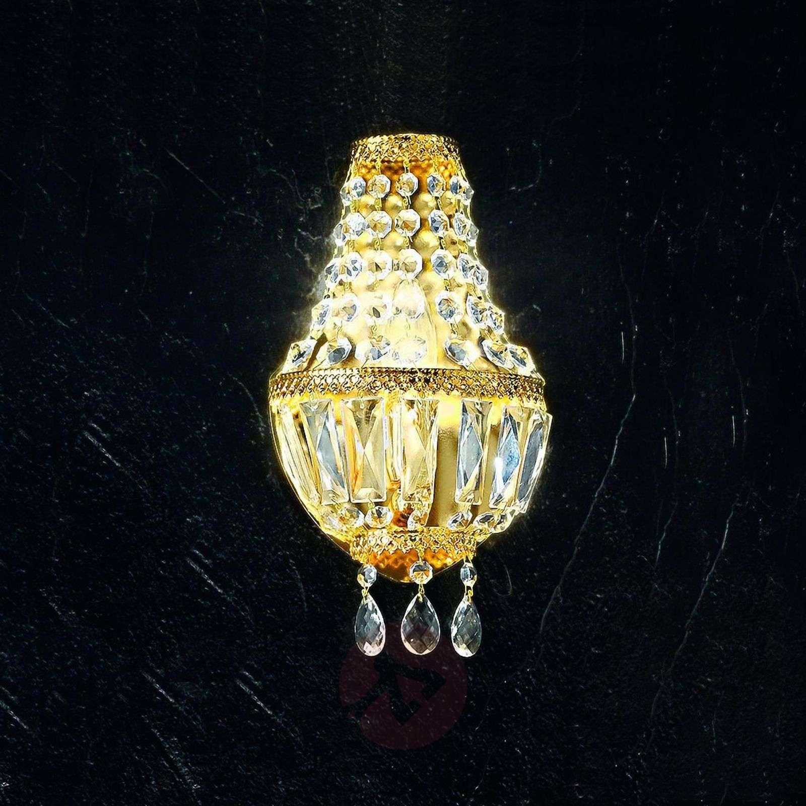 Cupola-seinävalaisin, 24 karaatin kullattu-5505540-01