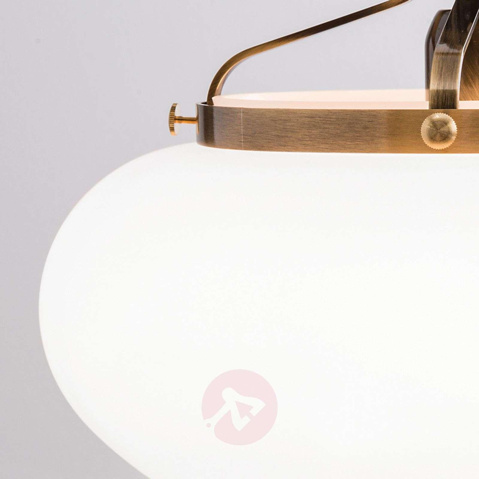 Delia riippuvalaisin antiikkimessinki 1-lamppuinen-7254022-01