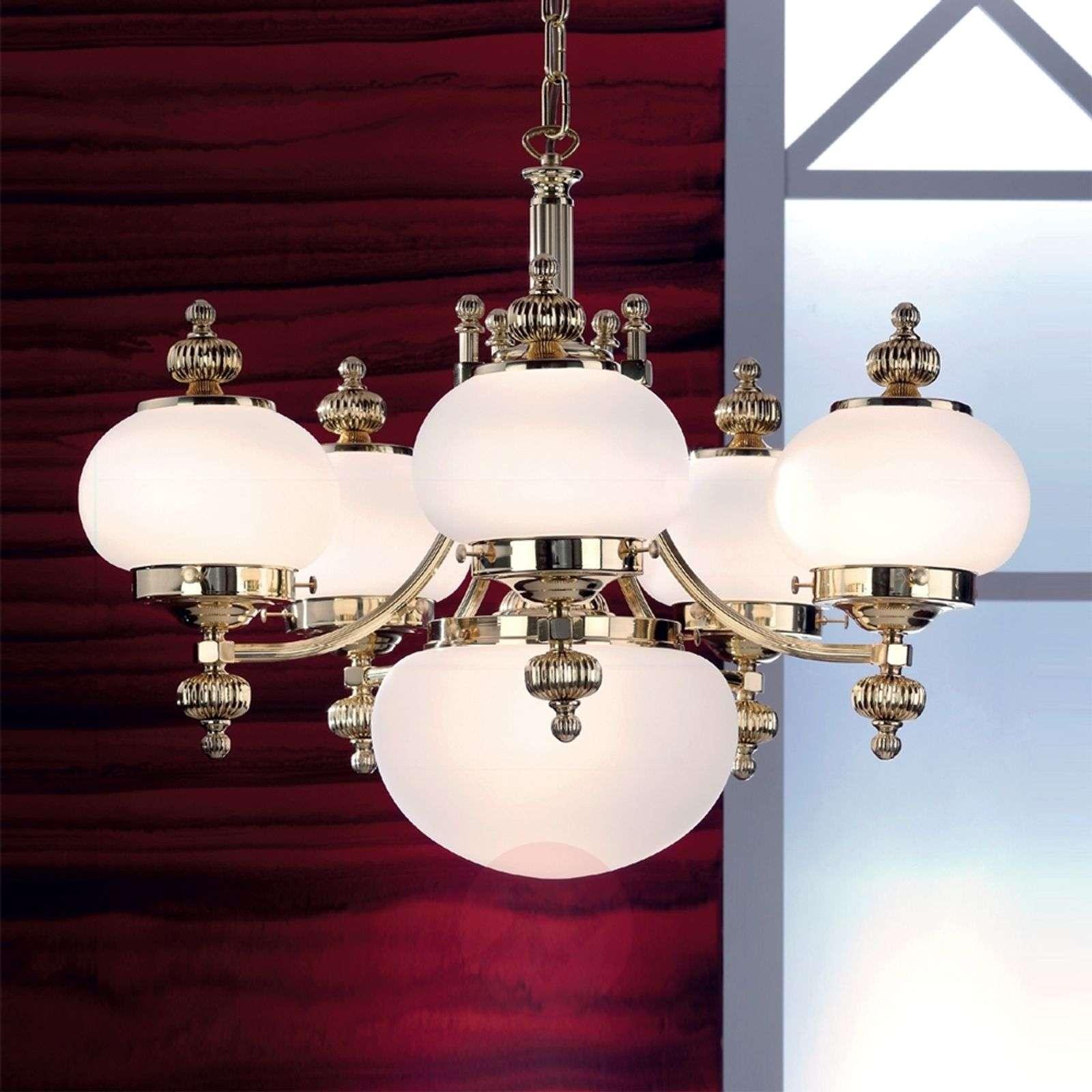 DELIA – tyylikäs kattokruunu, 6-lamppuinen-7254017-01