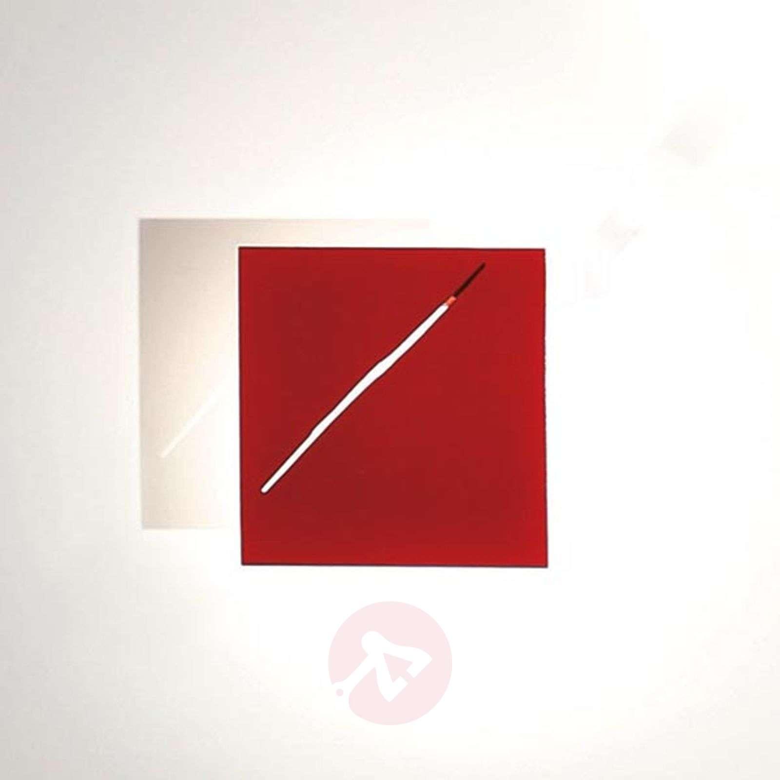 Des.agn-design-seinävalaisin LEDeillä, punainen-5538056-01