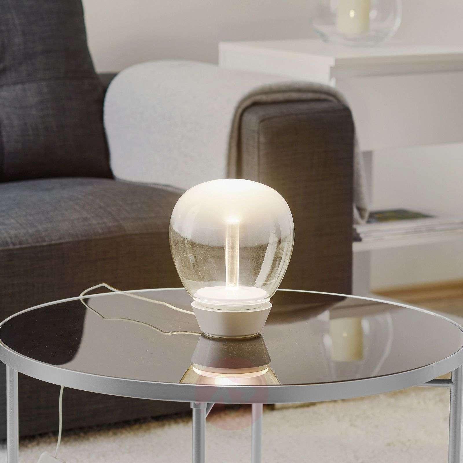 Design-LED-pöytävalaisin Empatia, 16 cm-1060040-01