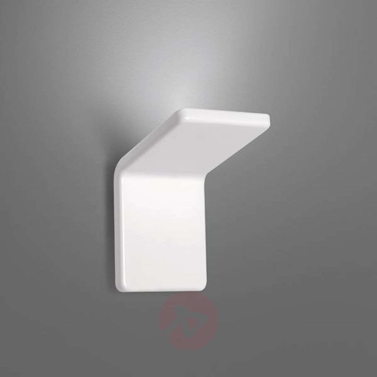 Design-LED-seinävalo Cuma 10, valkoinen-1060018-01