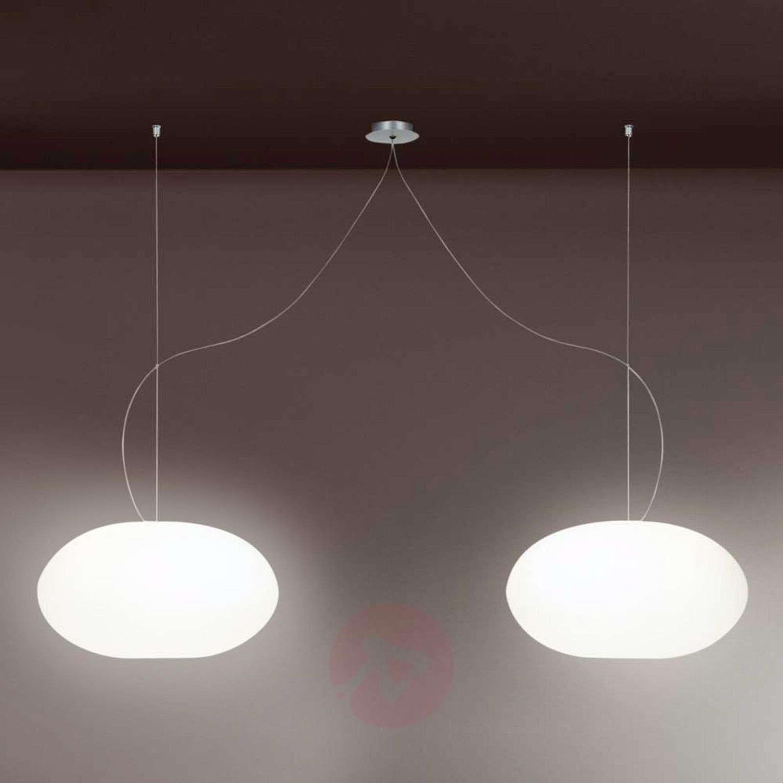 Design-riippuvalaisin AIH 28 cm kiiltävänvalkoinen-2000247-01