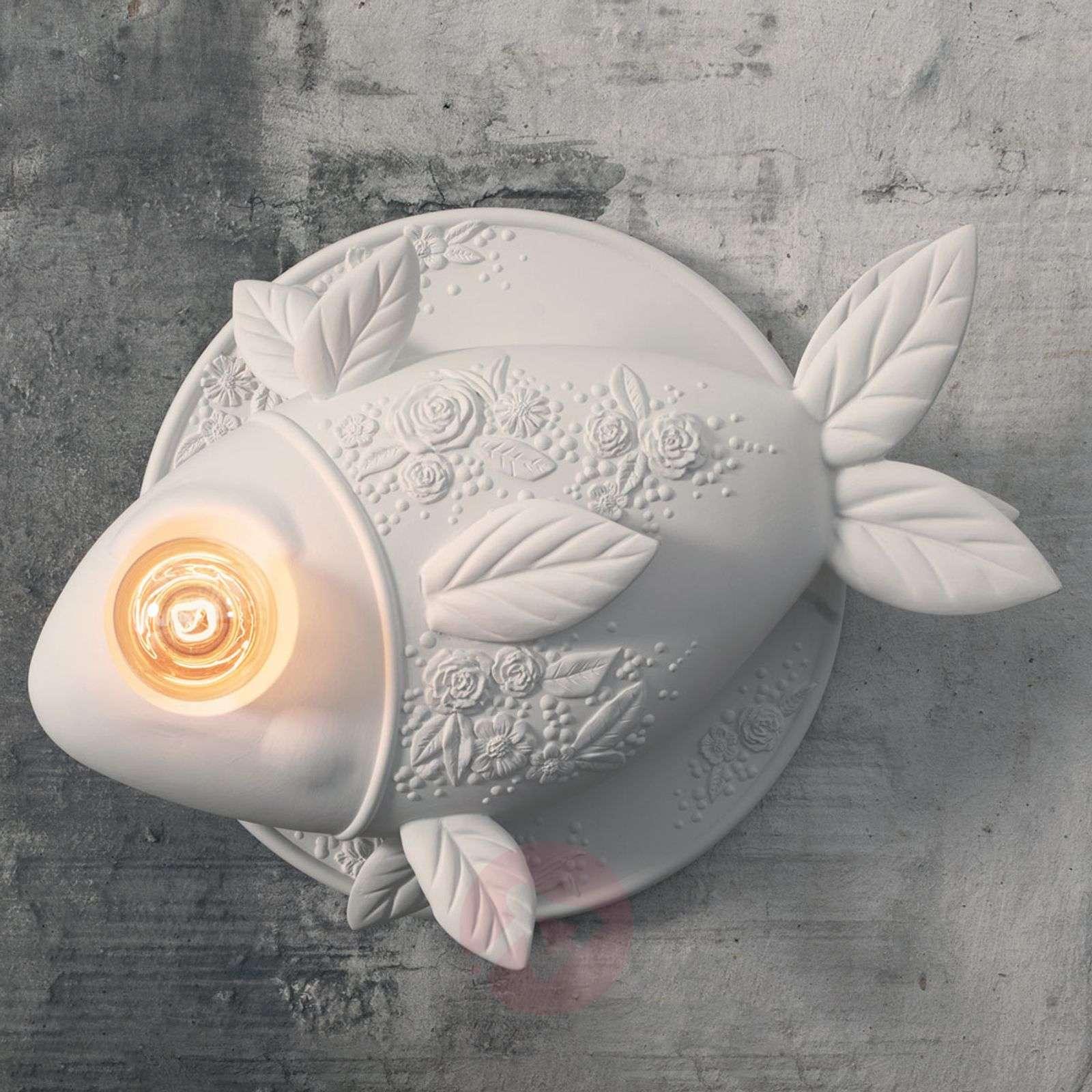 Design-seinävalaisin Aprile, kalanmuotoinen-5542013-01