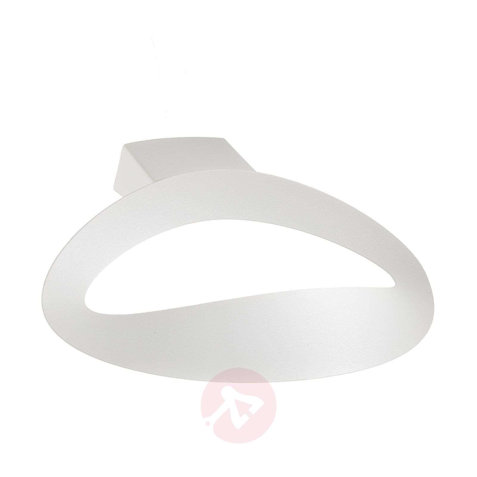 Design-seinävalaisin Mesmeri, valkoinen-1060008-01