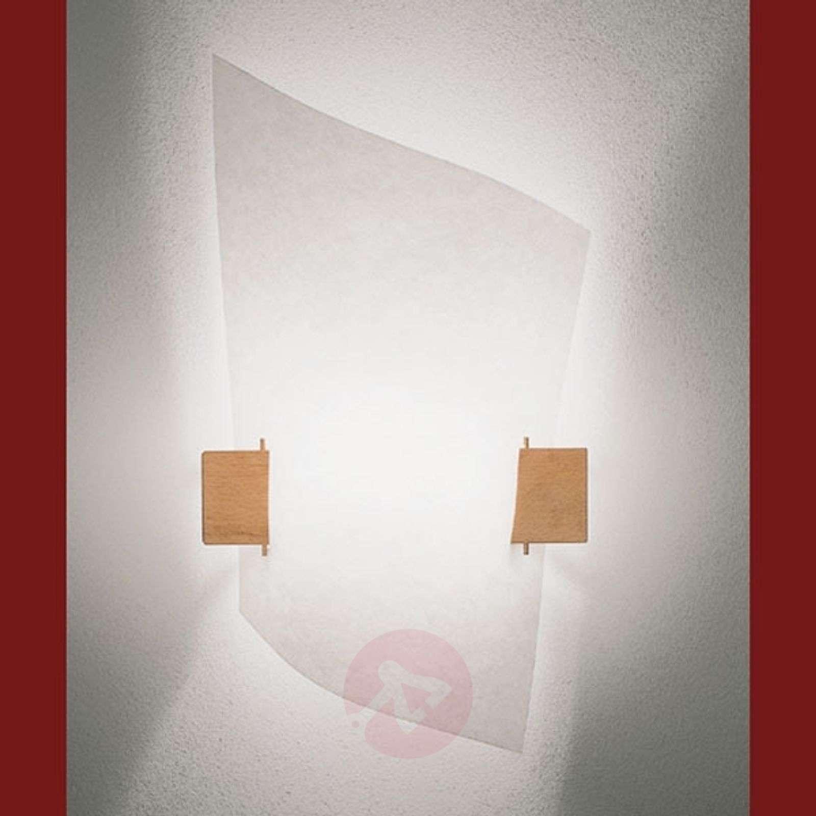 Design-seinävalaisin PLAN B, vaaleaa puuta-2600019-01