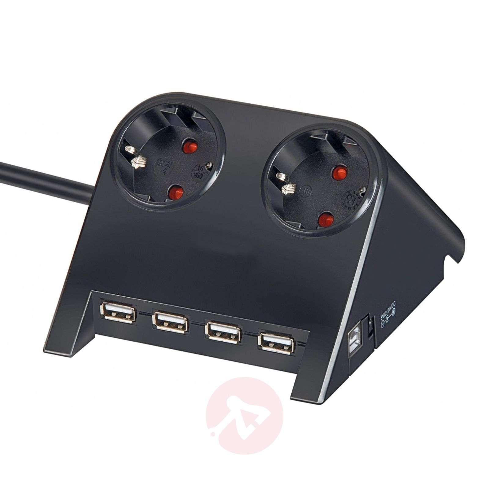 Desktop-Power-jakopistorasia USB-liitännällä-1540137X-03
