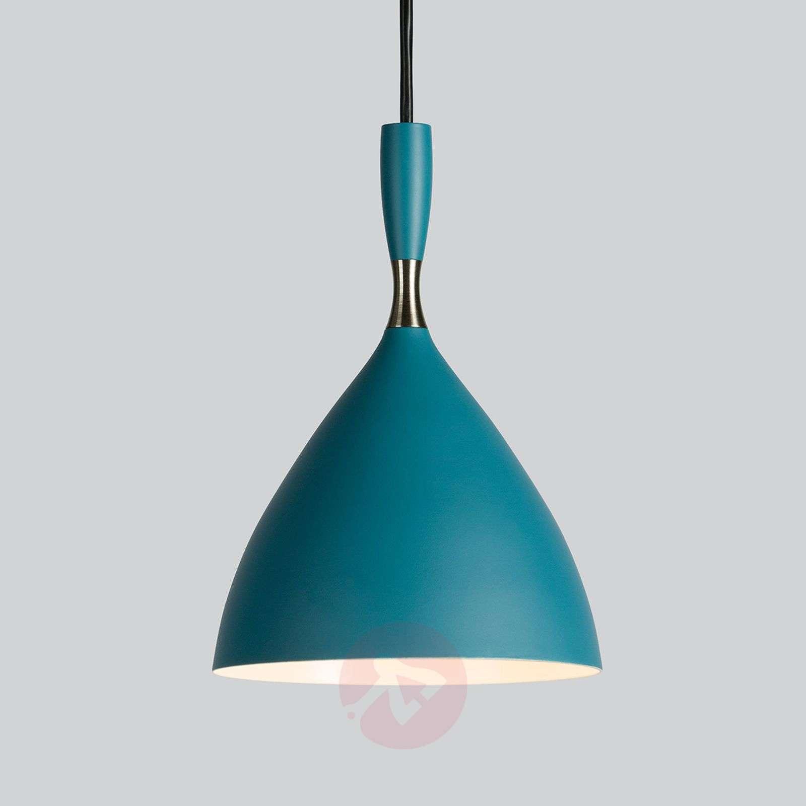 Dokka – design-retrovalaisin sinivihreänä-7013060-01