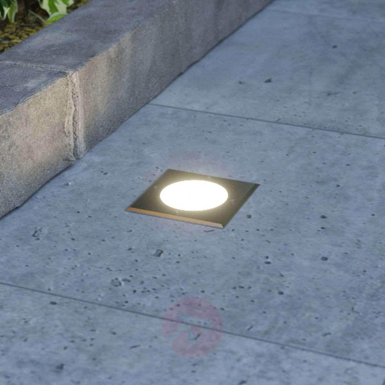 Doris – upotettava LED-maakohdevalaisin, kulmikas-9969051-01