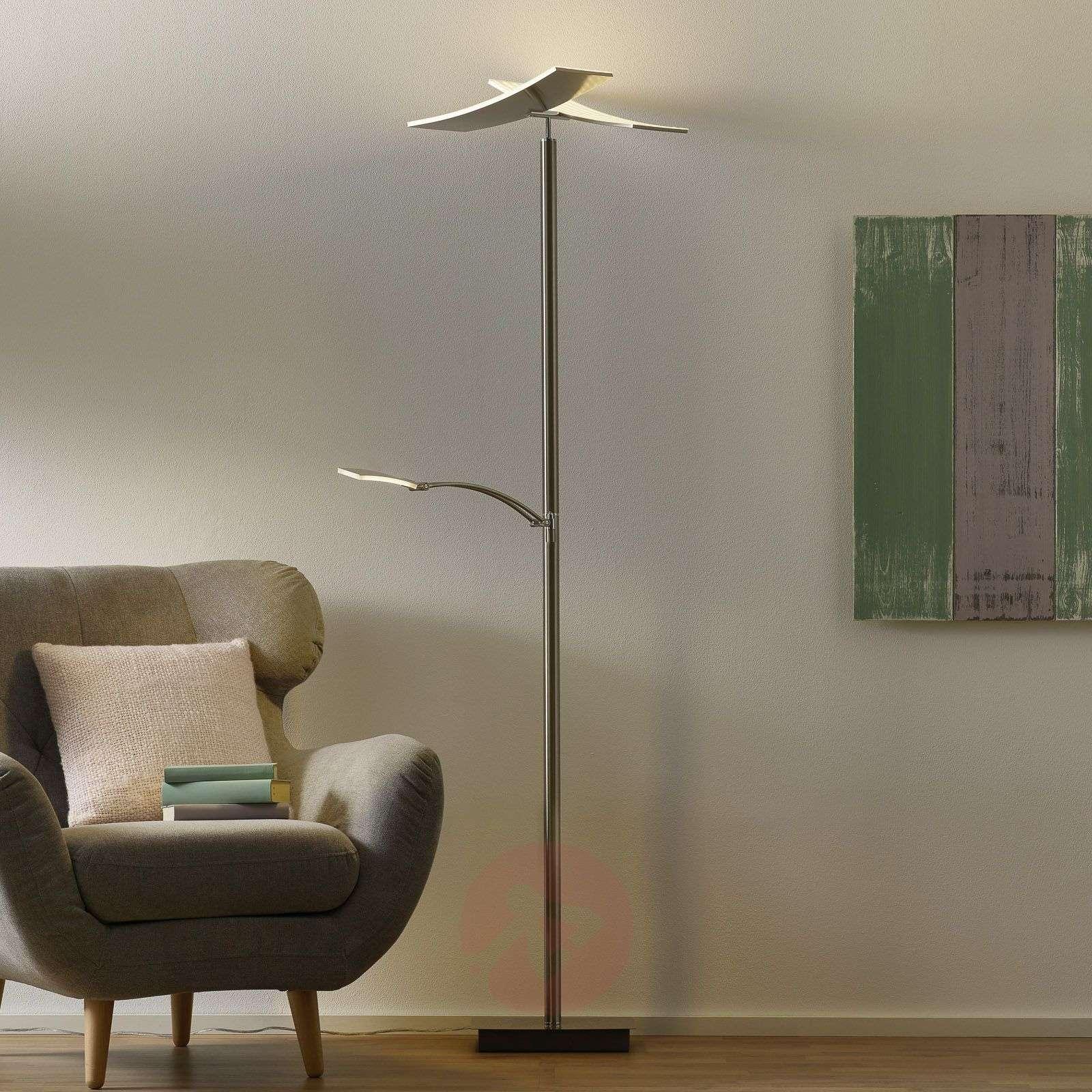 Duo-LED-lattiavalaisin lukuvarrella ja himment.-1554007-01