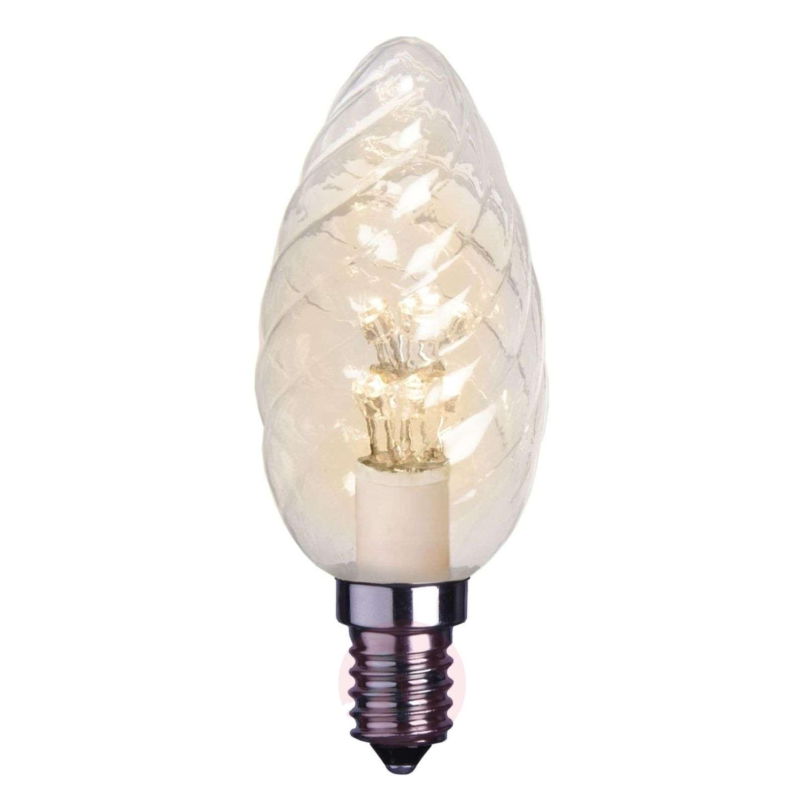 E14 0,9 W kirkas LED-kynttilälamppu, kierretty-1522106X-01