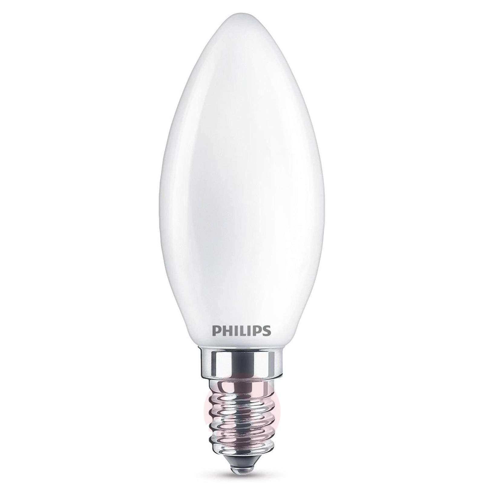 E14 2,2W 827 LED-kynttilälamppu, matta-7530771-01