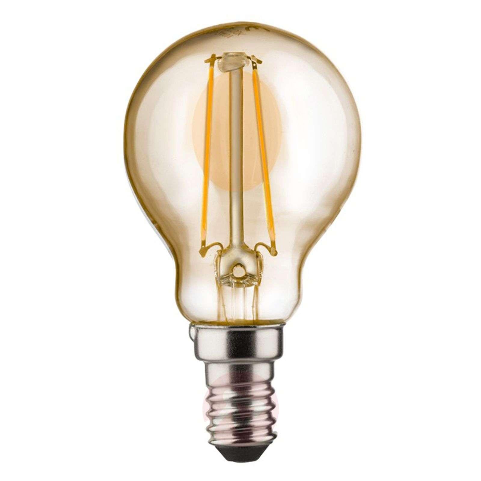 E14 2W 820 LED-pisaralamppu kulta-6520237-01