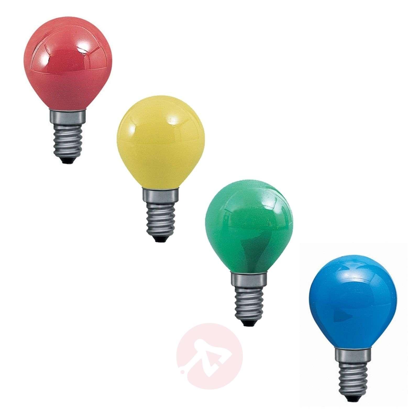 E14 25W pisaralamppu 4 eri väriä, valoketjuun-7500401X-01