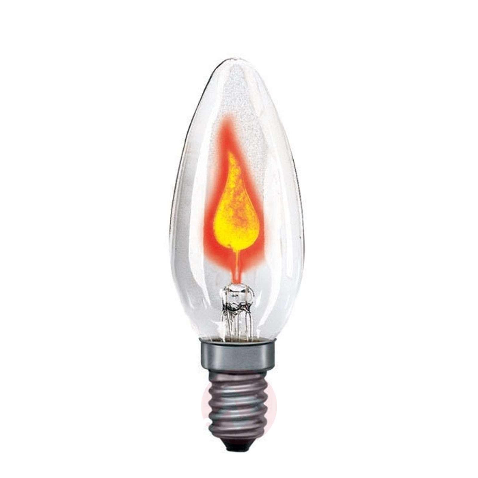 E14 3W lepattava kynttilälamppu, kirkas-7500815-01