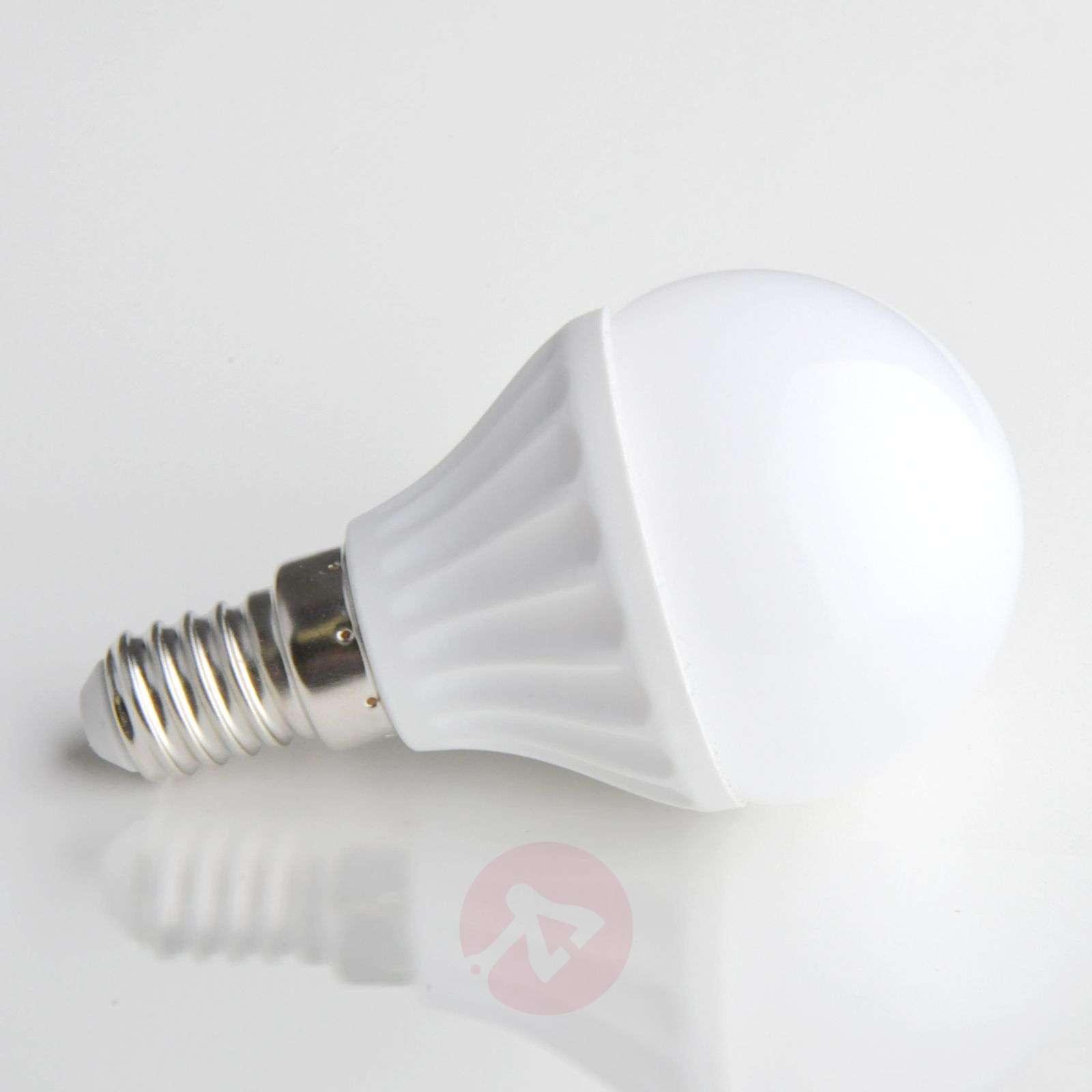 E14 4W 830 LED-lamppu, pisaranmuotoinen, matta-9620007-05
