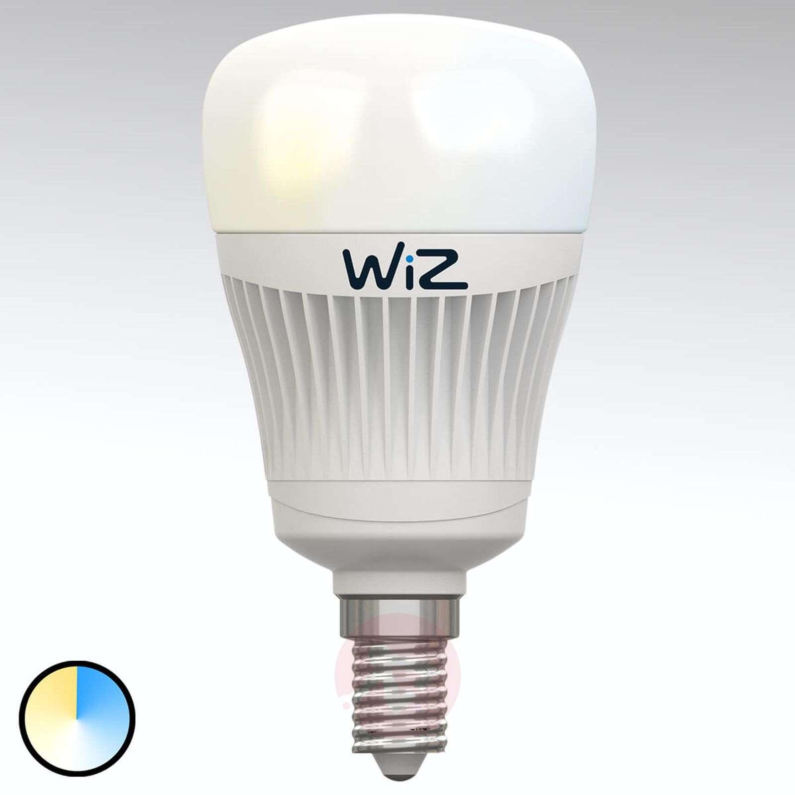 E14 WiZ LED-lamppu, ei kaukosäädintä., valkoinen-9038070-02