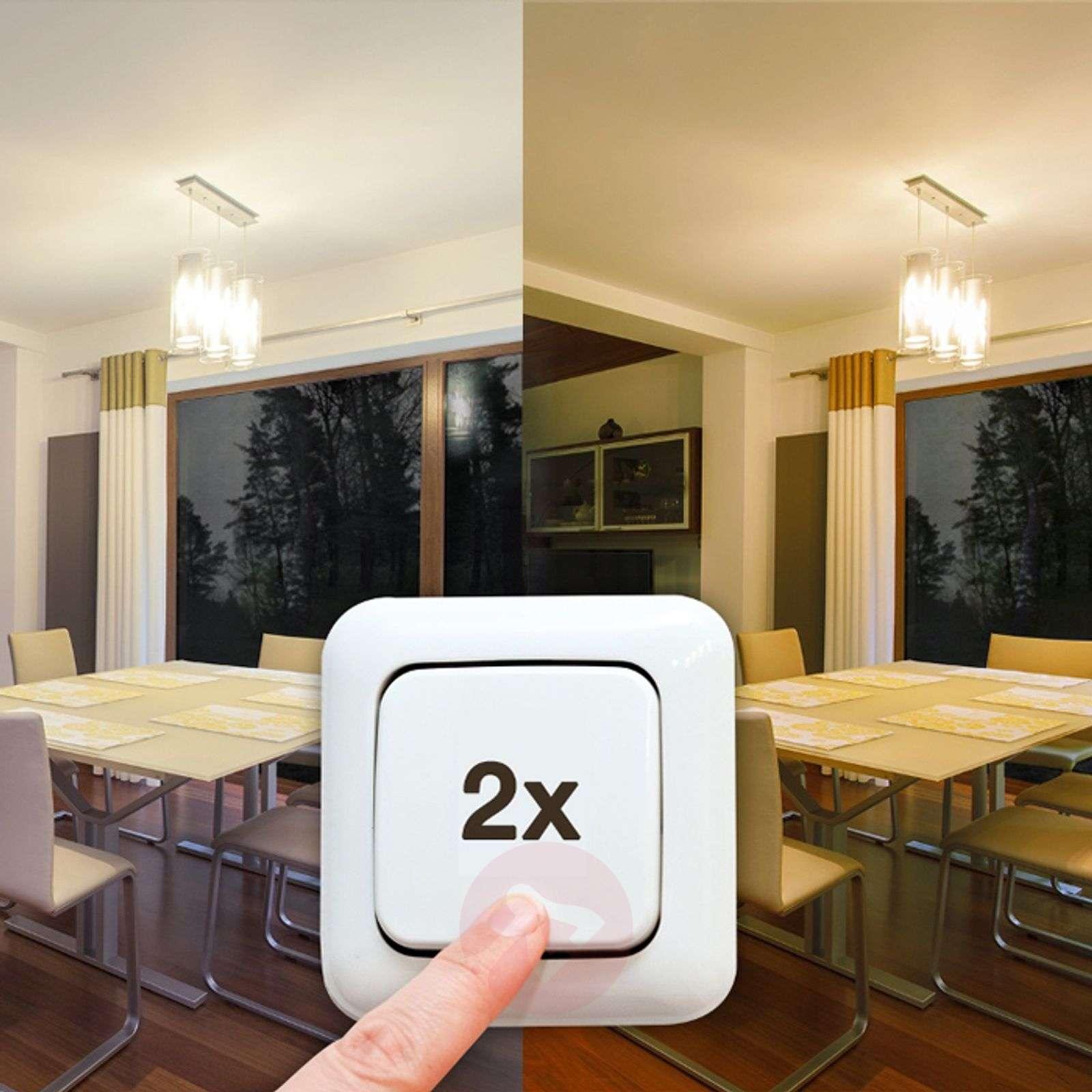 E27 10W dual color (827/840) led-lamppu, himmenne.-6037110-01