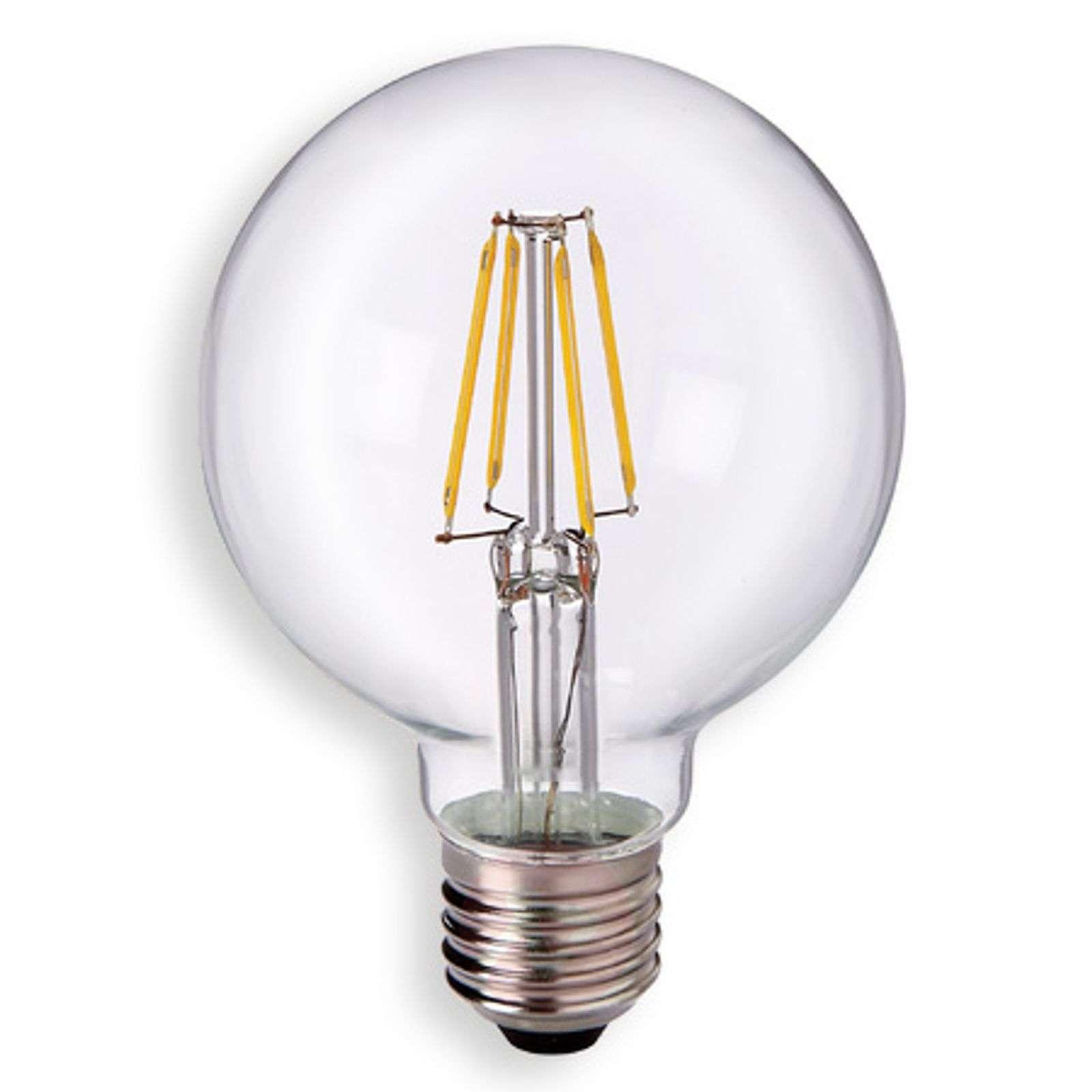 E27 5W 827 LED-pallolamppu G80, kirkas-8530166-01