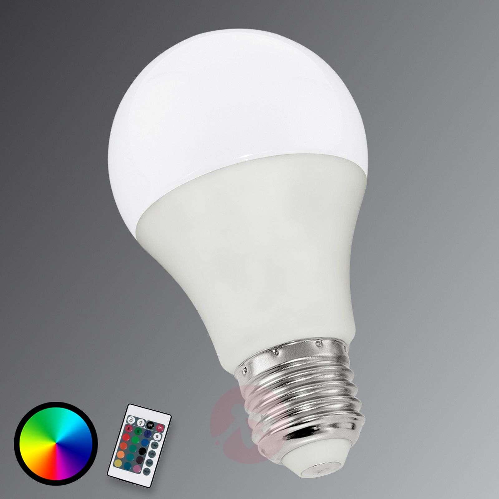 E27 6W 830 LED-lamppu RGB matta-3032002-01