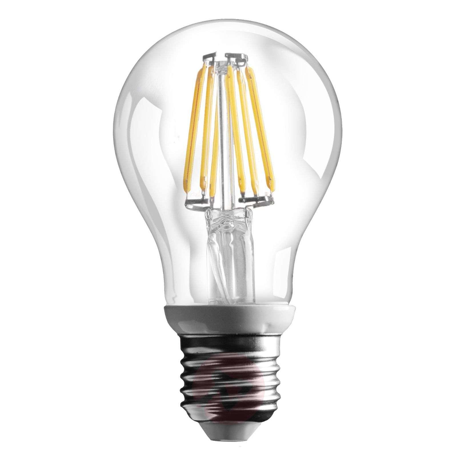 E27 6 W LED-filamenttilamppu 800 lm – lämmin valk.-3538053-01