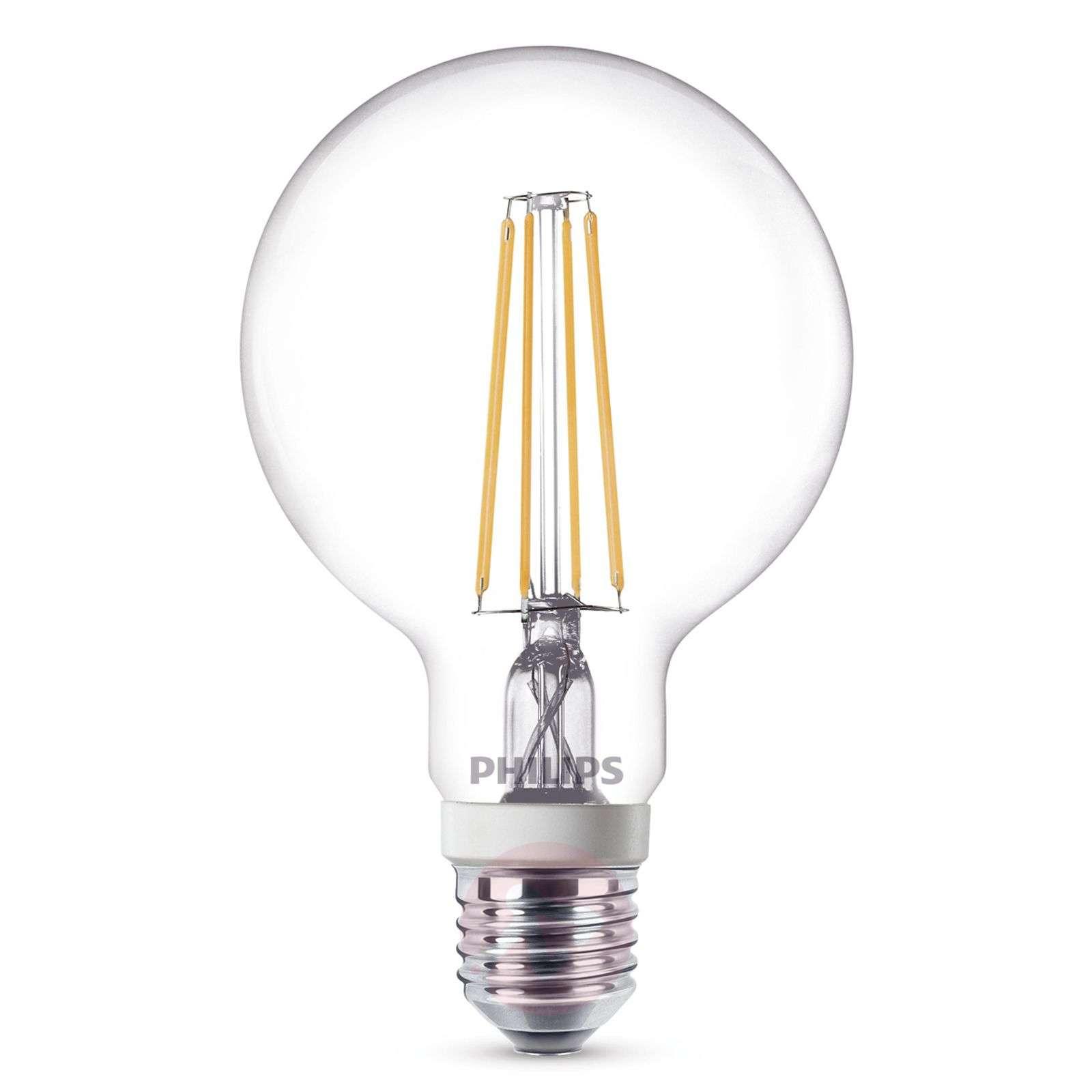 E27 7W 827 LED-globe-lamppu G95 kirkas, himmen.-7530713-01