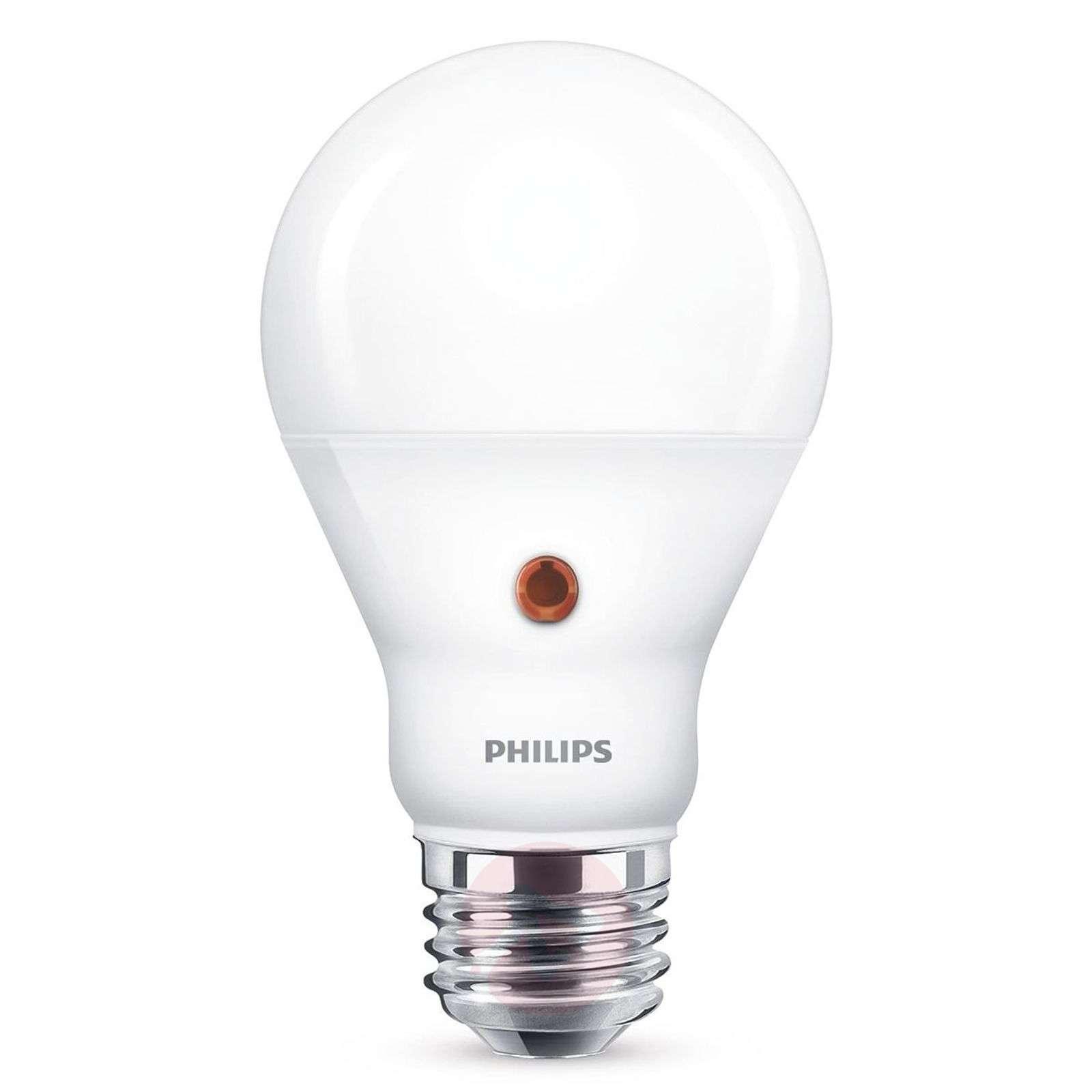 E27 A19 LED-lamppu päivä/yötunnistin 7,5 W 2700 K-7530786-01