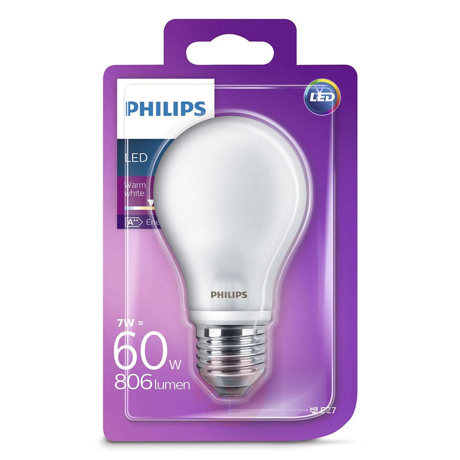E27 A60-LED-lamppu 7 W, 2700 K, matta-7530788-01