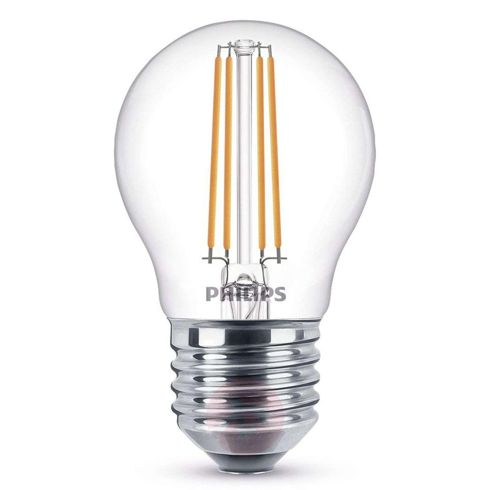 E27 P45 5 W LED-pisaralamppu 2700 K himm. kirkas-7530798-01