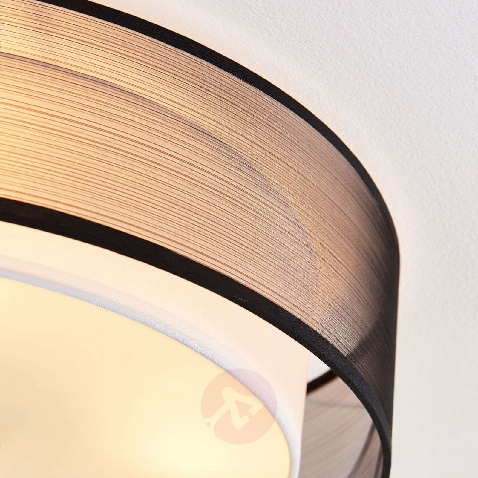 Easydim-LED-kattovalaisin Tobia, organza-varjostin-9621304-02