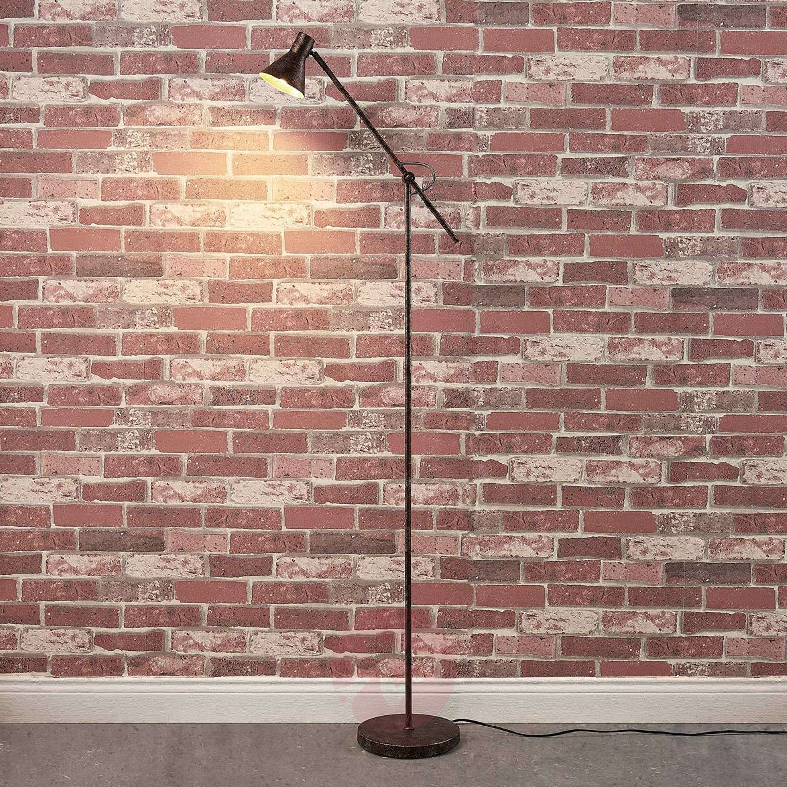 Easydim-LED-lattiavalaisin Zera, ruoste-kulta-9621545-02