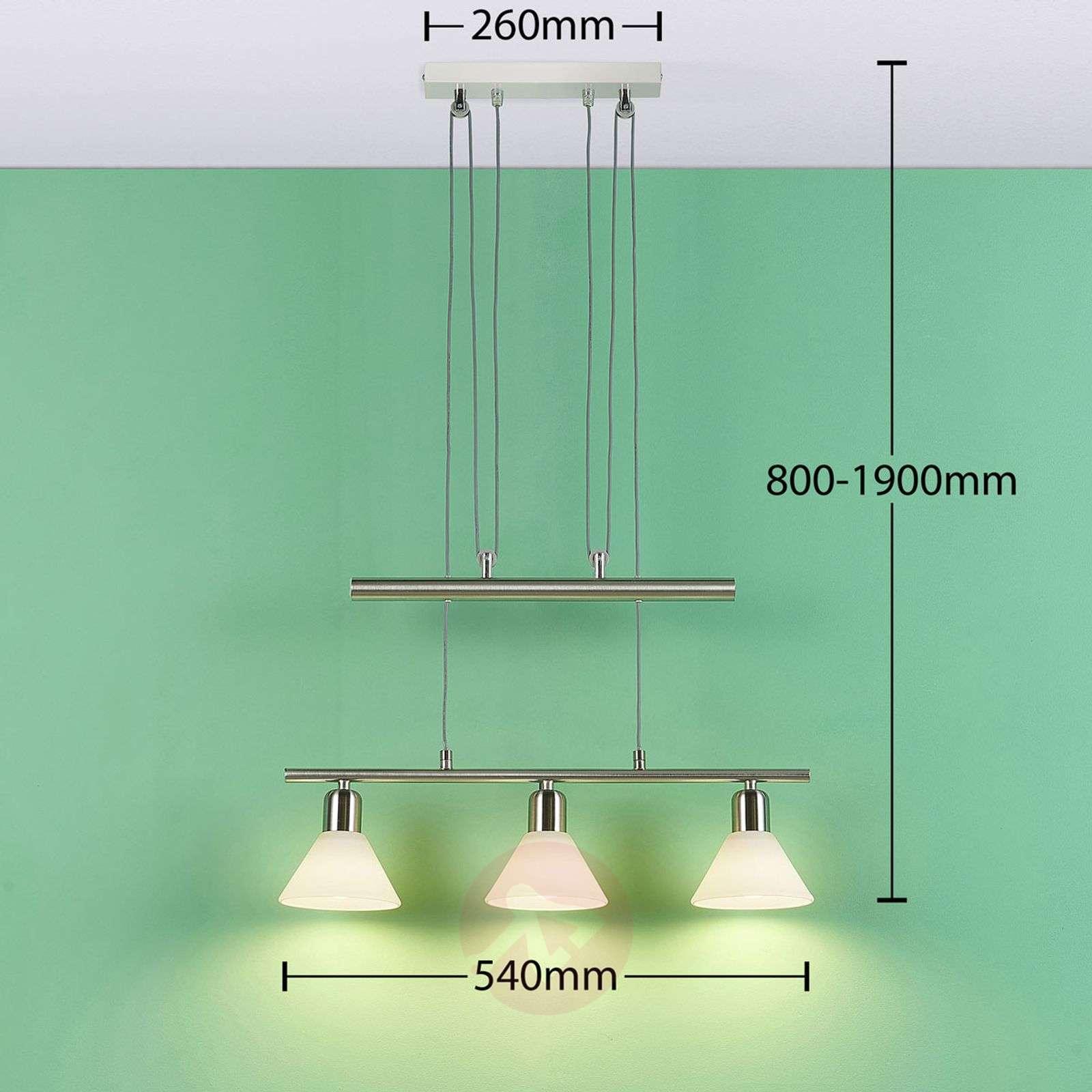 Easydim-ruokailutilan LED-riippuvalaisin Eleasa-9621384-02