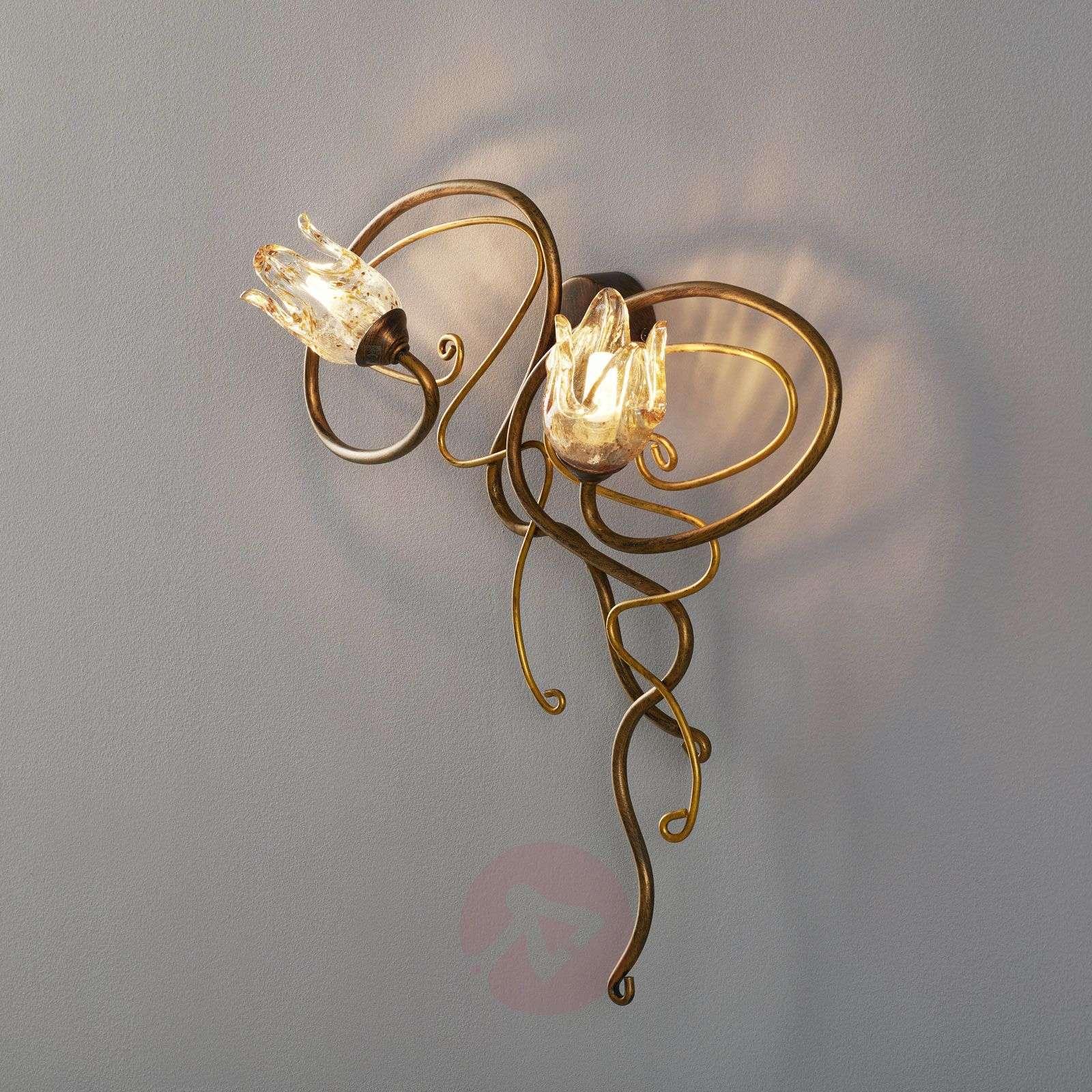 Edle 2-lamppuinen Seinävalaisin MONIQUE-7253236-03