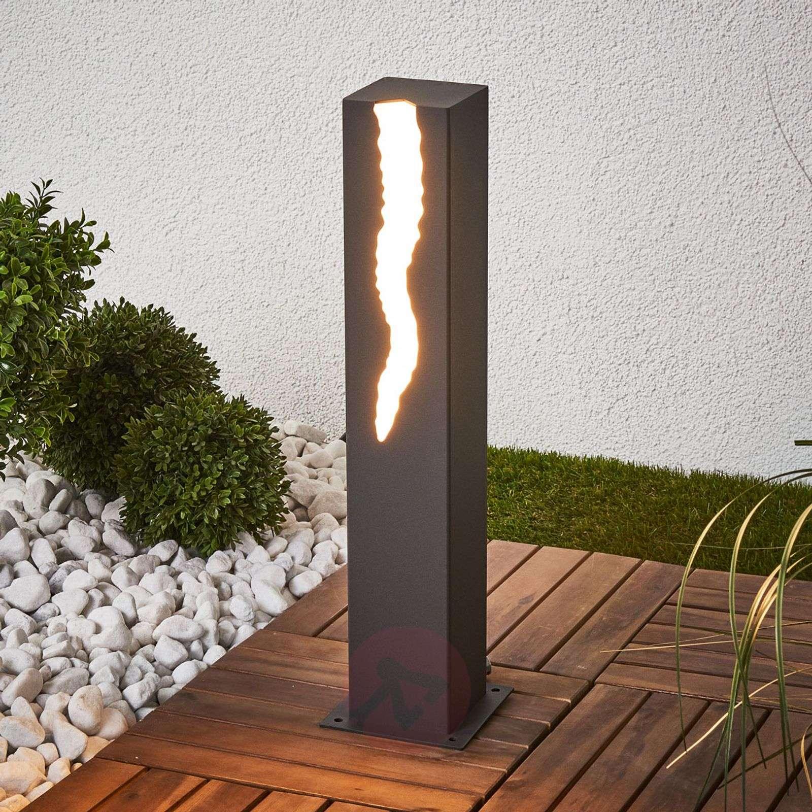 El Rayo-LED-pollarivalaisin, valaisu 1 puolelta-2500015-01