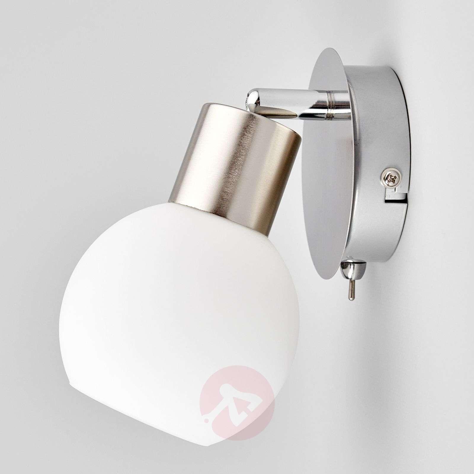 Elaina LED-seinäspotti, matta nikkeli-9620017-01