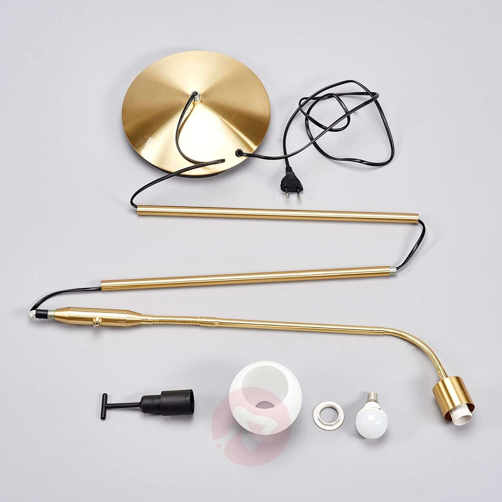 Elaina – messinkinen LED-lukuvalo-9620012-01