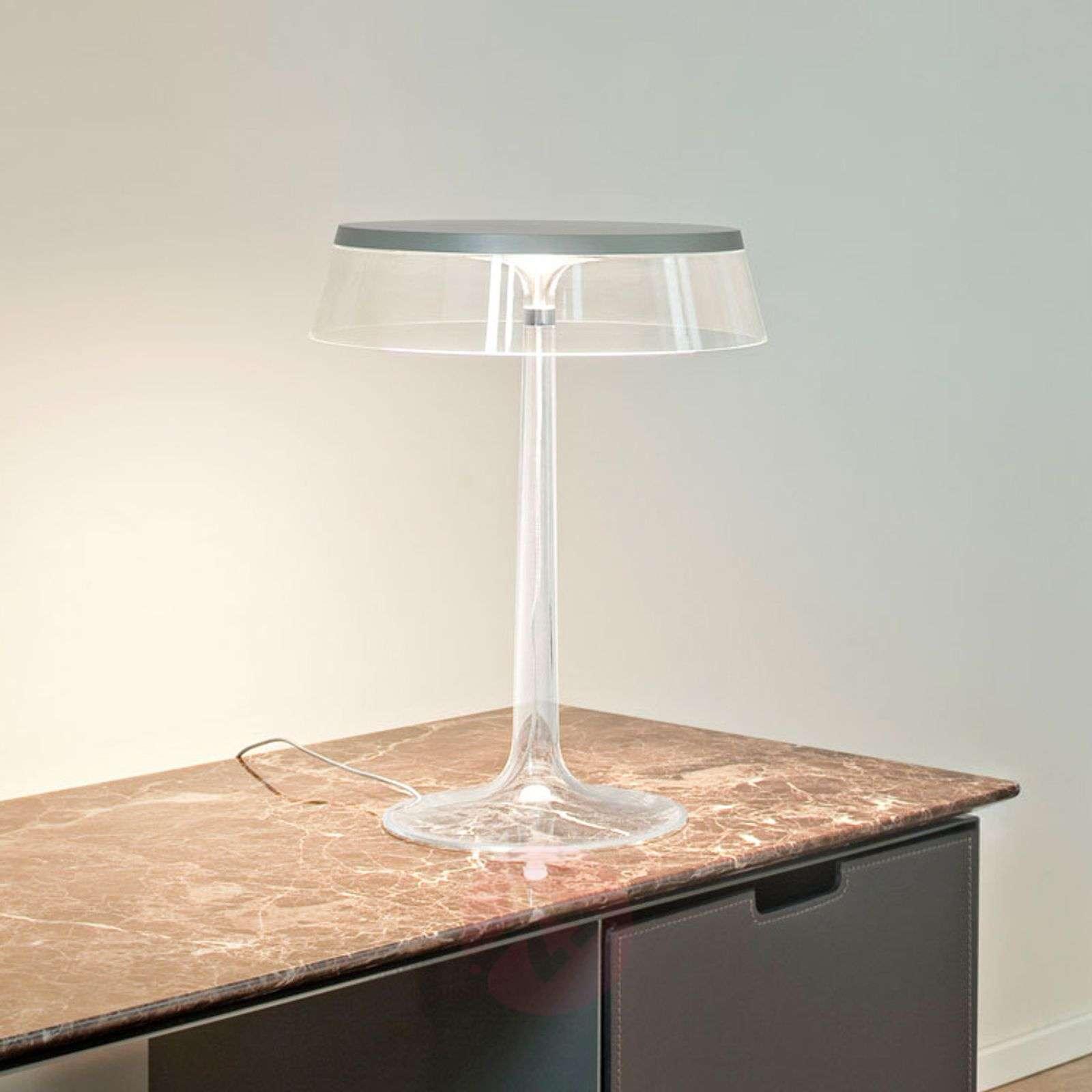 Elegantisti muotoiltu Bon Jour LED-pöytävalaisin-3510375-01
