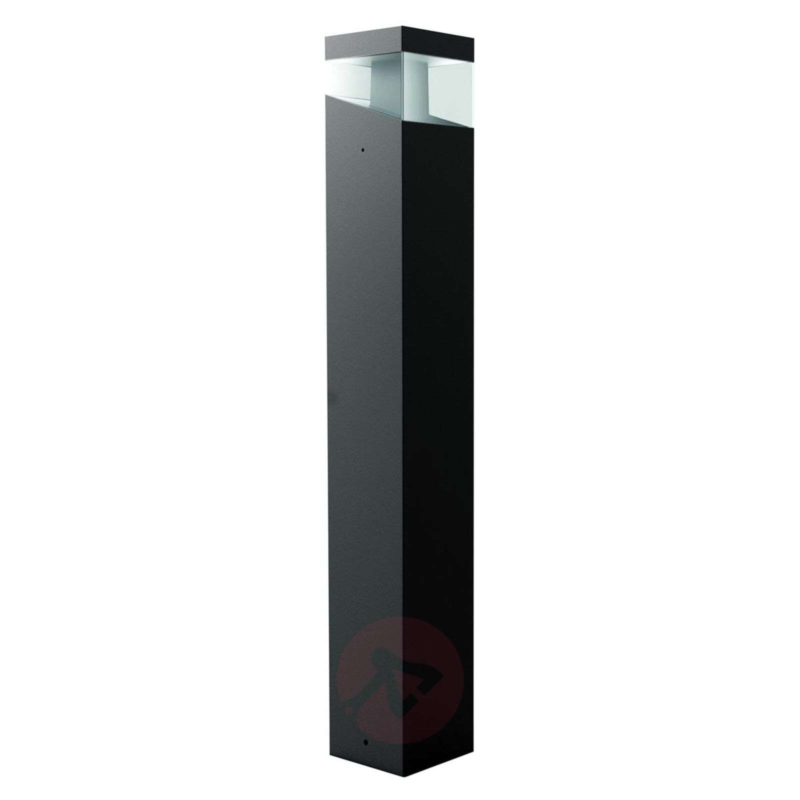 Elegantti design-LED-pylväsvalaisin Tetragono-1061005-01