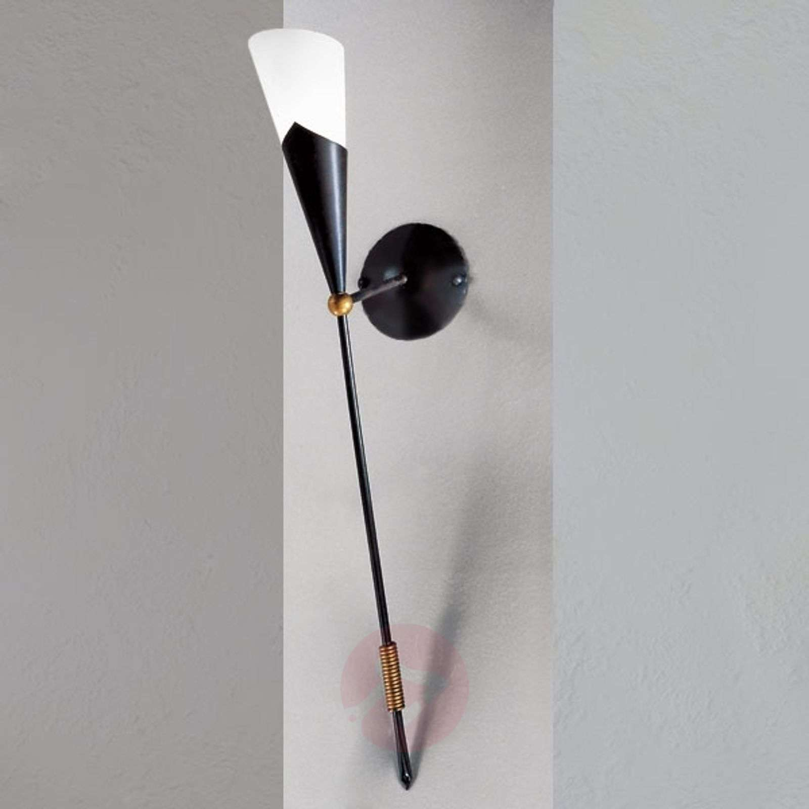 Elegantti GRANDIO-seinäsoihtu ruoste-5505029-01