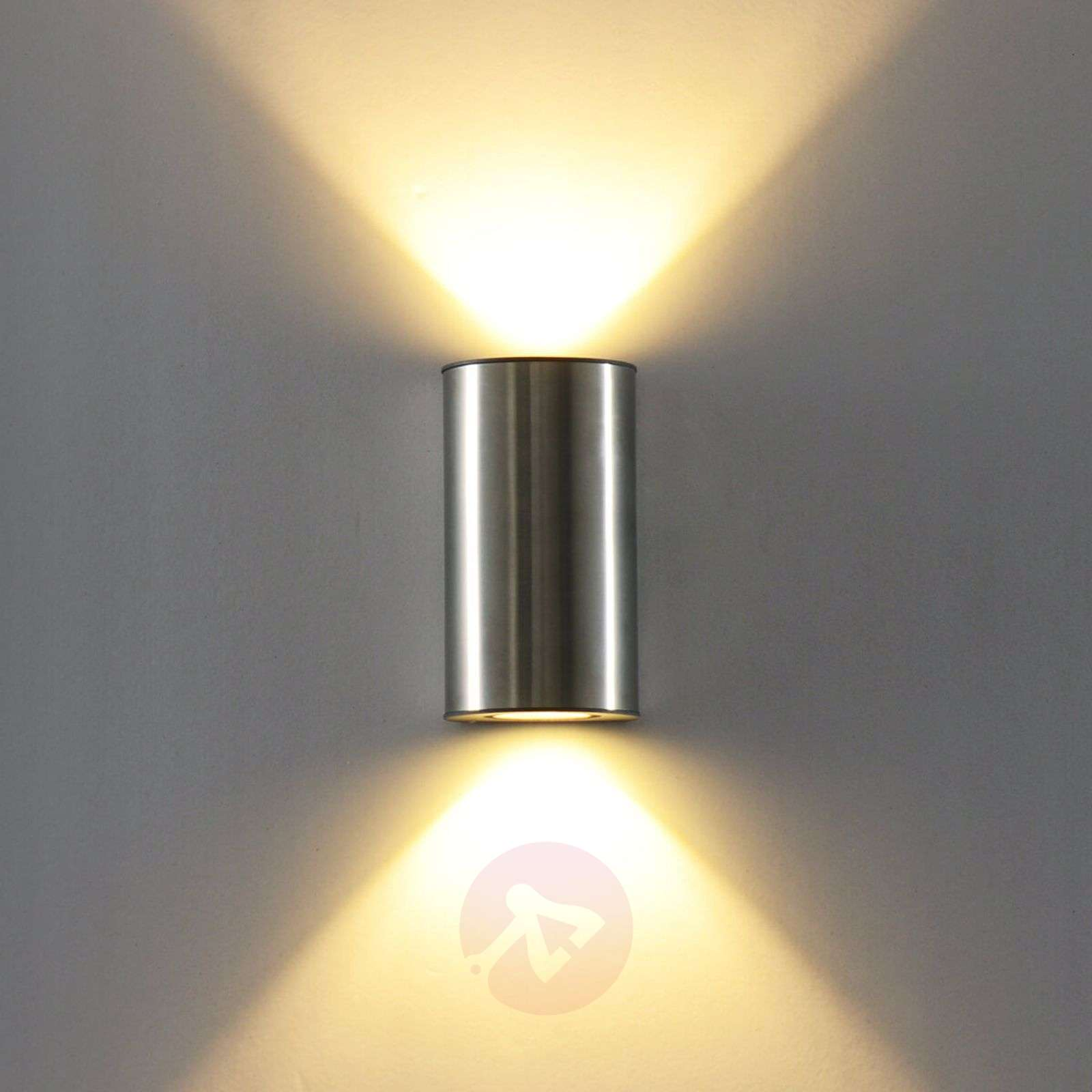 Elegantti Illumi-LED-ulkoseinävalo, ruost. teräs-3006520-01