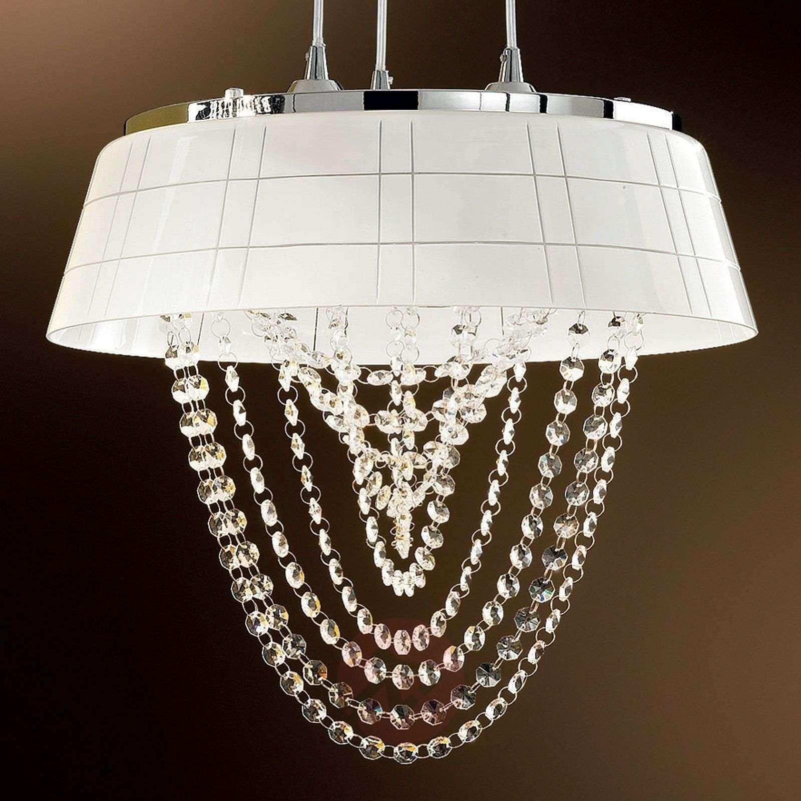 Elegantti riippuvalaisin ROMIA lasivarjostin-7254221X-01