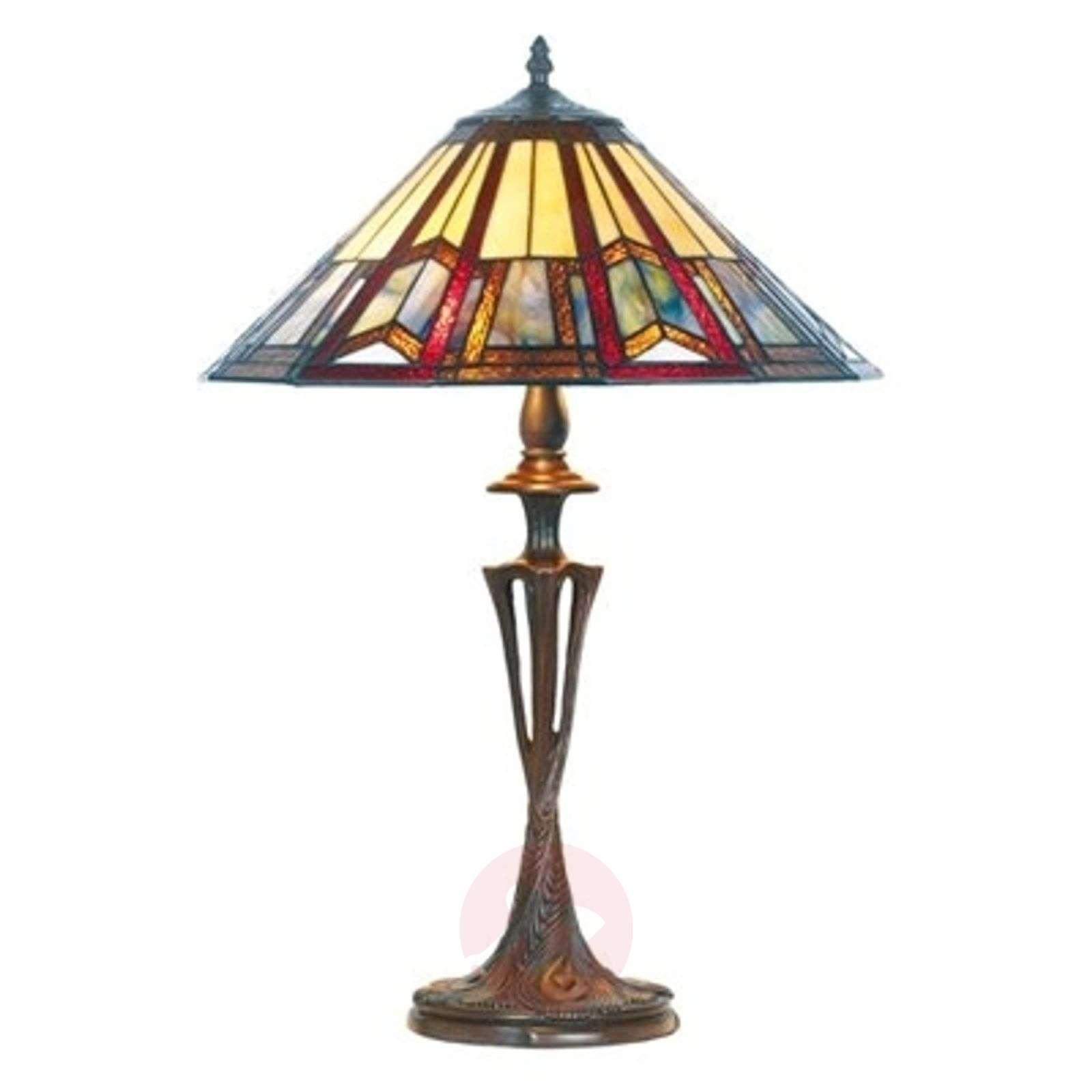 Elegantti Tiffany-tyylinen LILLIE-pöytävalaisin-1032185-01