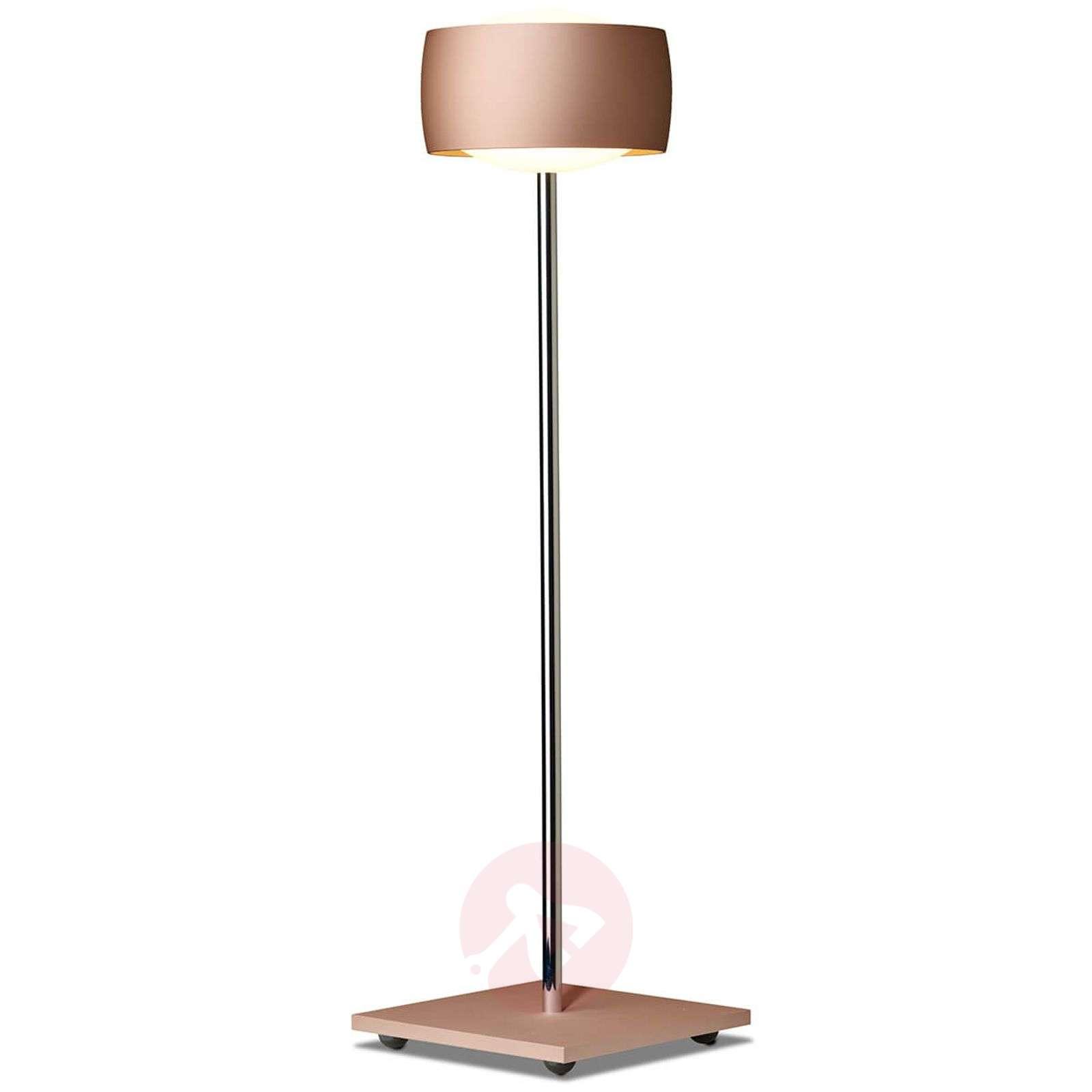 Eleohjauksella LED-pöytälamppu Grace kupari-7250504-01