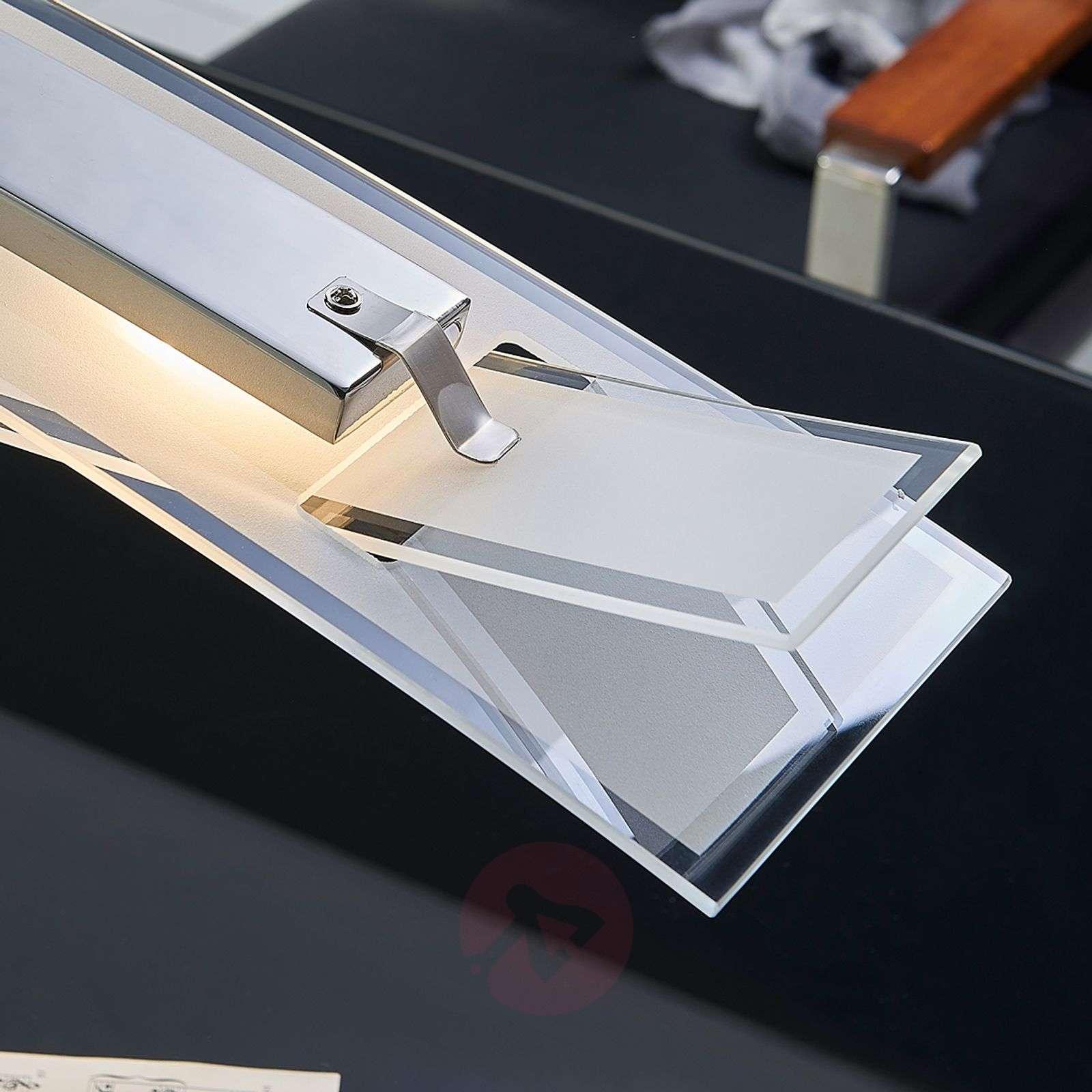 Elina LED-riippuvalaisin huurrelasivarjostin-9620822-010