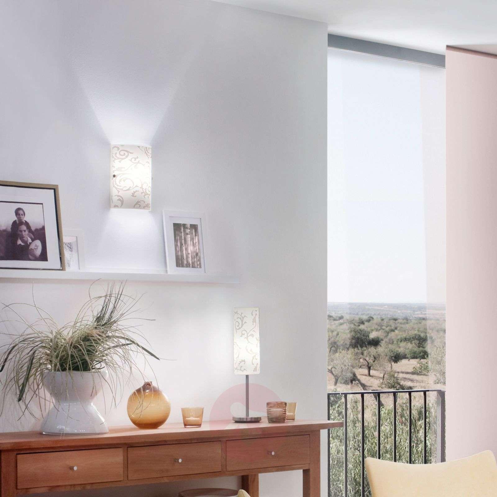 Eloisa Amanda-seinävalaisin koristekuviolla-3001062-01
