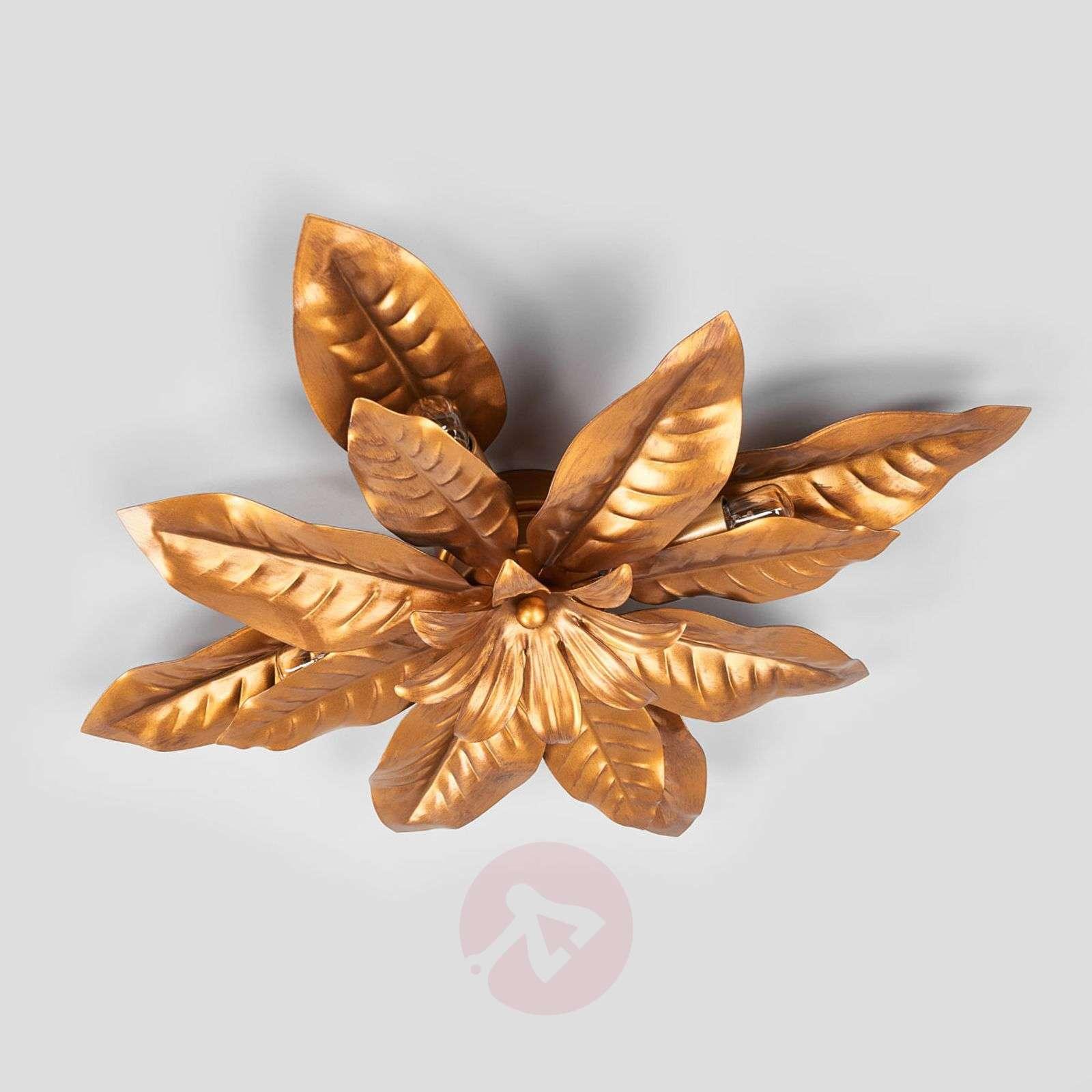 Ennennäkemättömän upea FLEURIA-kattovalaisin kulta-5505458-01