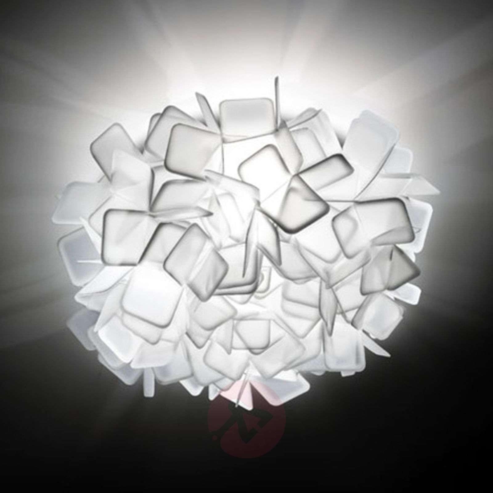 Epätavallinen seinävalaisin Clizia, valkoinen-8503184-01