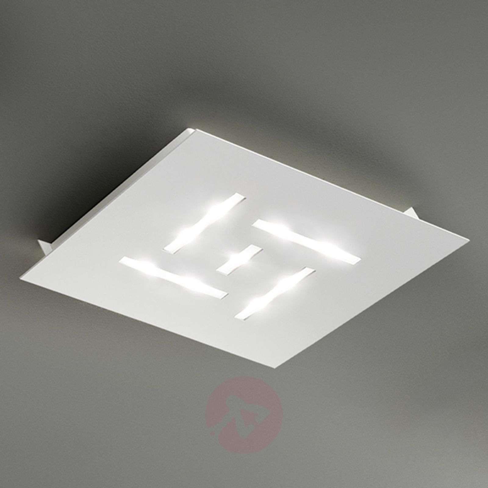 Erittäin litteä LED-kattovalaisin Pattern-1552058X-04