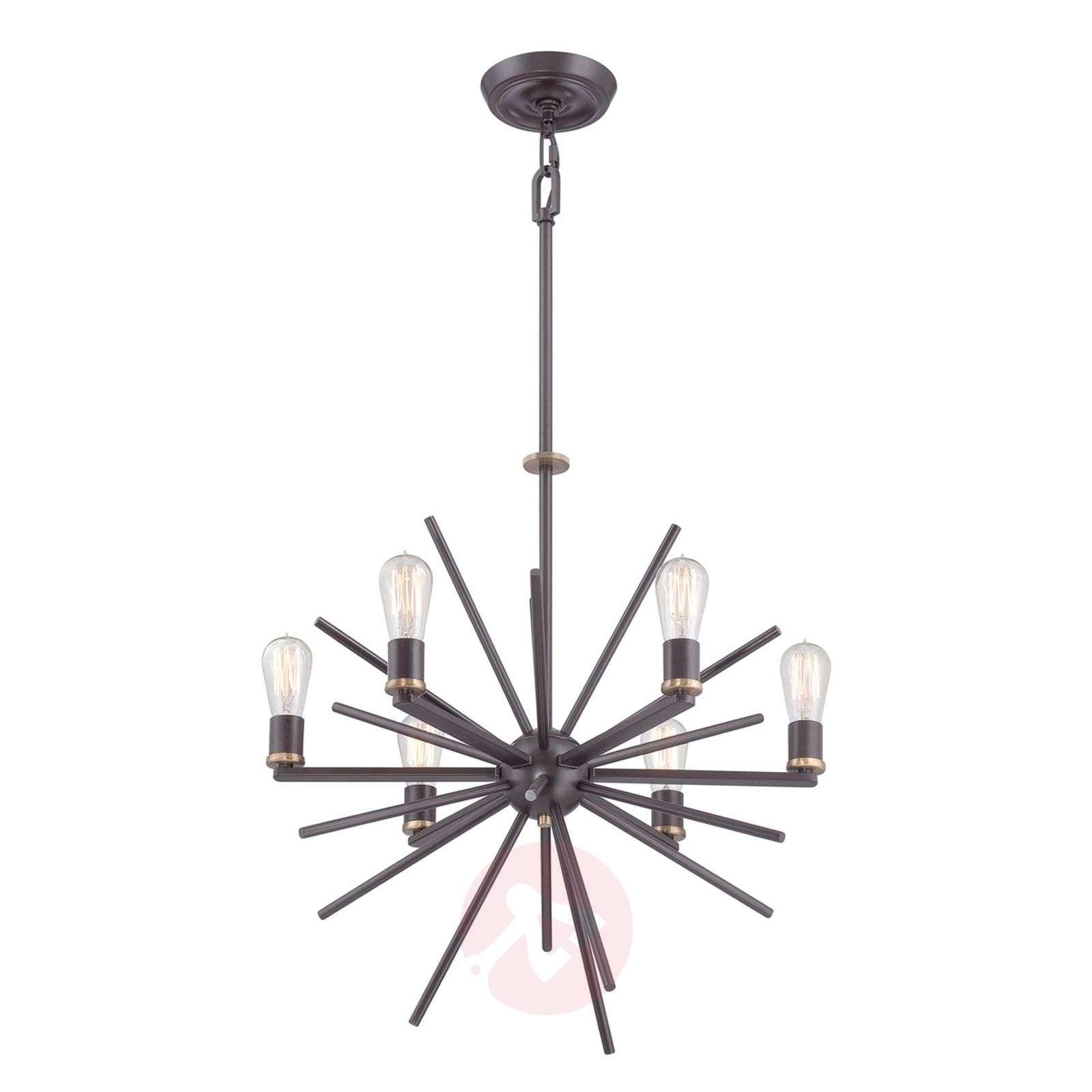 Erityinen kuuden lampun Carnegie-riippuvalaisin-3048273-01